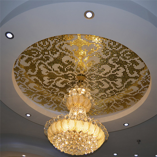 Gold  Leaf Mosaic -04